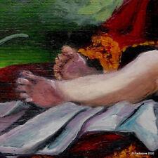 Stunning Beautifull masterpiece Original Modern Young King Art by Parfonova AYA