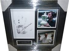 Keith Burkinshaw Tottenham Spurs SIGNED AUTOGRAPH Hand Print AFTAL UACC