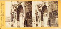 ITALIE Venise, Photo Naya. Stereo Vintage Albumine ca 1865