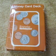 Everyday Mathematics Money Coins Card Deck McGraw-Hill Learning Cards