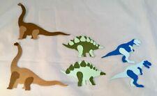 Tim Holtz Die Cuts: 12 Prehistoric Dinosaurs * Brontosaurus * T-Rex Stegosaurus