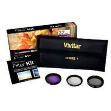 Vivitar 72mm UV, Polarizer & FLD Deluxe Filter kit (set of 3 + carrying case)
