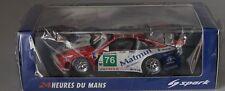 SPARK S3417 PORSCHE 997 GT3 RSR Nº 76 Le Mans 2011 en 1:43 encore scellé