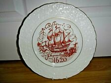 "COALPORT Commemoration  Plate ~ Mayflower Plymouth 1620 ~ 10.5"" ~ Excellent"