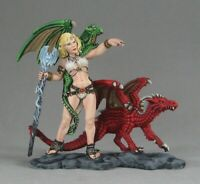 Reaper Miniatures Dragon Summoner (54mm) #01446 Unpainted Metal Mini Figure