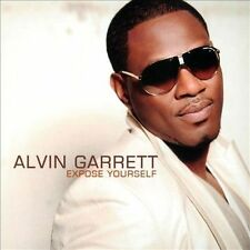 """ALVIN GARRETT CD: """"EXPOSE YOURSELF"""" INDIE SOUL FIRST PRESSING 2012"""