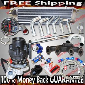 Turbo Kits T3/T4 Turbo for  VW Jetta 93-05 GL/ 94-04 GLS Sedan 4D 2.0L I4 V8only