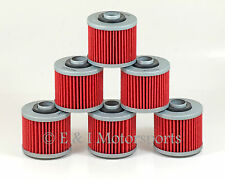 1983-1984 YAMAHA TT600 TT 600 TT600K TT600L 600K 600L ***6 PACK*** OIL FILTER