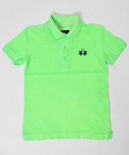 LA MARTINA Jungen Poloshirt neon-grün Gr.10/140 NEU %SALE%