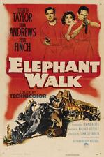 Elephant walk Elizabeth Taylor vintage movie poster #4