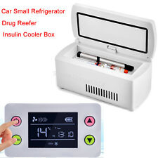 Portable Insulin Cooler Box / Drug Reefer / Car Small Refrigerator & Charger