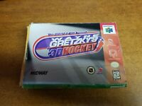 Wayne Gretzky's 3D Hockey (Nintendo 64, 1996)(Tested)