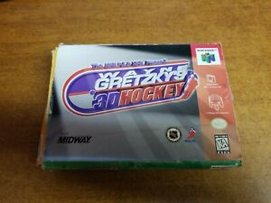 Wayne Gretzky's 3D Hockey (Nintendo 64, 1996)(Tested)