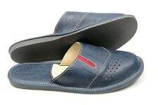 Top Mens Handmade Leather slippers,mules, sandals US 6,5-13, 39-47