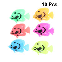 10PCS Artificial Fishes Fake Fishes Photography Ornament Fish Tank Decoration