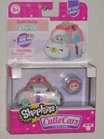 Shopkins Sushi Roller QT4-08 Cutie Cars QT Die Cast Mini Shopkin Moose Brand New