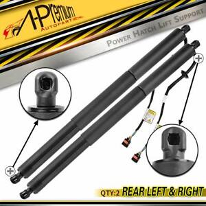 Pair Electric Tailgate Boot Gas Strut for Porsche Macan 95B 14-17 Spindle Drive