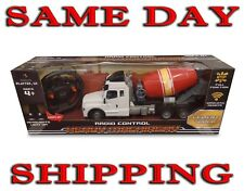 Light up 1:15 Scale 4 CH R/C Cement Truck Radio Control Construction Remote Car