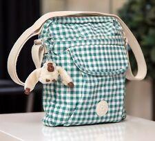 Kipling Suelita 33% off Premium Small Crossbody Bag Adjustable Strap PLAID GREEN