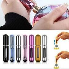 Travel Portable Mini Refillable Perfume Atomizer Empty Bottle Spray Case 5ML SZ