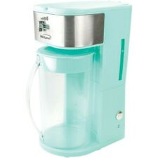 New Brentwood Appliances Iced Tea And Coffee Maker Blue Coffee Maker Machine