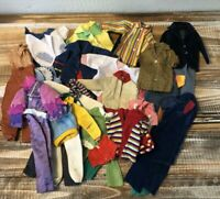 Lot Vintage 1960's Ken Doll Clone Clothing Outfits Jackets Suits Pants