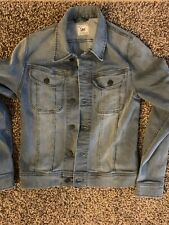 Lee Men's H.D. Lee Fashion Label Jeans Denim Jacket Gray S Small