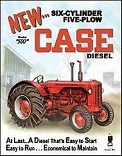 Case 500 Tractor metal sign 400mm x 320mm  (de)