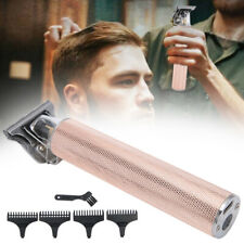 Electric Hair Clipper Ceramic Cutter Head Hair Trimmer Rechargeable Household A+