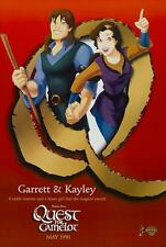 QUEST FOR CAMELOT Movie POSTER 27x40 C