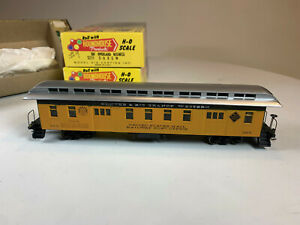 4X HO Roundhouse 50' Overland D&RGW Pass Cars, Coach, Bizz, RPO, Bagg, MK-71