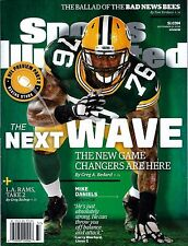 New Sports Illustrated Mike Daniels Green Bay Packers 2016 No Mailing Label