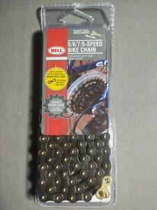 BELL SPORTS Replacement Bike Chain Multi Speed Bicycle 10-24 Speed New!