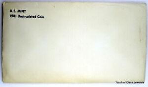 1981 P&D Uncirculated Mint Sets in Original Mint Packaging