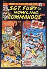 Sgt.Fury and his Howling Commandos #116 11/73 - The End of the Road