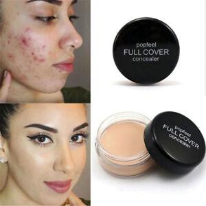 SKIN CONCEALER Foundation Makeup Waterproof TATTOO HIDE PORES COVER Cream