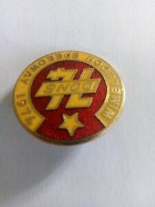 Vintage 1974 Wimbledon Dons Speedway Badge