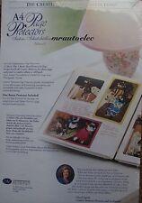 Creative Memories A4 Scrapbook Page Protectors BNIP