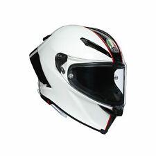 AGV Pista Gp RR Casque Charbon/Blanc/Rouge 60/61-L Course Sport Moto Casque