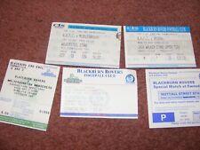TICKET 1992  Blackburn Rovers v Arsenal