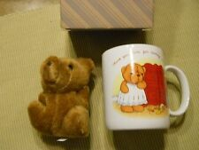 Avon Hug Mug with Teddy Bear - Mother - Vintage Gift Collection New in Box!