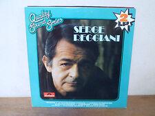 "2 LP 12"" SERGE REGGIANI - Quality Sound Series NM+MINT - NEUF - POLYDOR 2670 112"