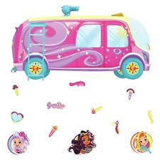 Roommates Sunny Day Bus Peel & Stick Giant Wall Decals Girls Room Decor Stickers