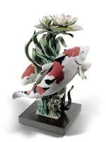 "Lladro Limited EditionSculpture ""Koi Fish"" #01001959"