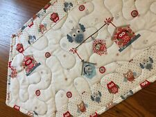 Handcrafted - Quilted Table Runner - Here You Go! Owls, Owls, and More Owls