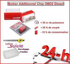 BOITIER ADDITIONNEL CHIP BOX PUCE OBD2 DIESEL VOLKSWAGEN GOLF 5 1.9 1L9 TDI 90CV