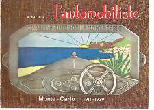 L'AUTOMOBILISTE 34 1974 LES RALLYES AUTOMOBILES DE MONTE CARLO 1911 1939 MONACO