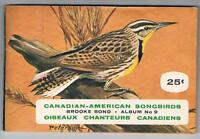 1963 Brooke Bond Canadian-American Songbirds Complete Set 48/48 in Album