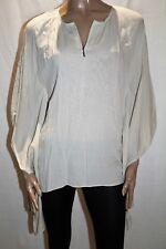 CHARLIE BROWN Brand Beige 'Such Attitude' Zipper Kaftan Size 10 BNWT #TT18