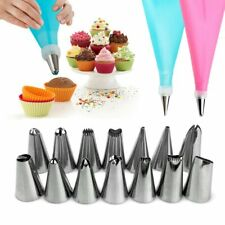 16PCS Nozzles for Confectionery Bag Icing Decorating Tools Reusable Pastry bag